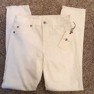 NWT 7 For All Mankind Roxanne Skinny Size 24